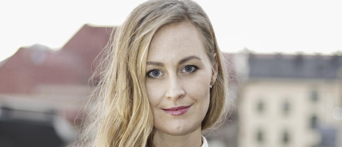 """Fastighetsprofilen Elin Andersdotter Fabre: """"Hållbara städer bygger på demokrati"""""""