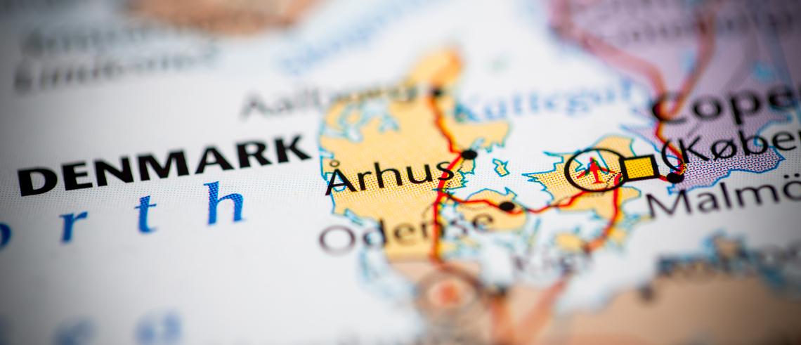 Danmarks viktigaste tillväxtregioner