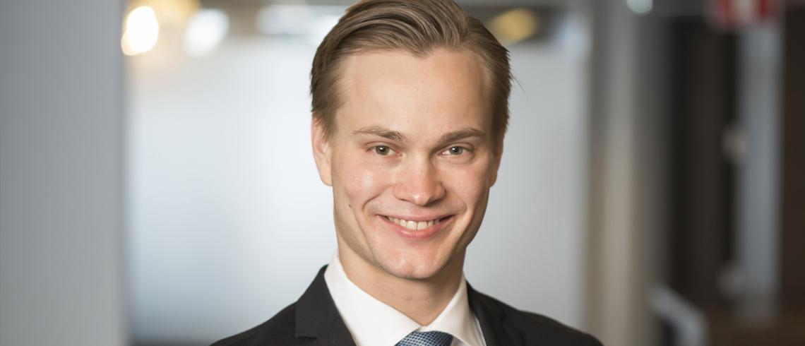 """Fastighetsprofilen Hannes Kimari: """"Utländska investerare tror på svenska bostäder"""""""