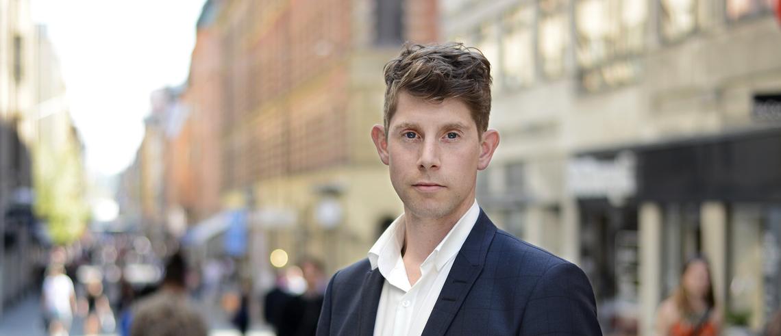 """Fastighetsprofilen Joakim Lusensky: """"Politikerna har totalt abdikerat från sitt ansvar"""""""