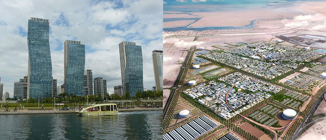 Smartare städer under uppbyggnad